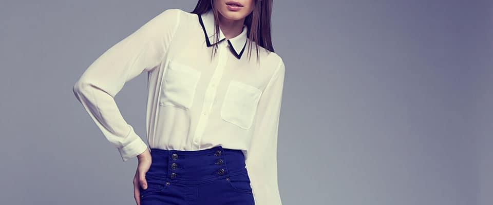 Блуза классическая из курса по пошиву