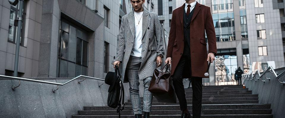 Мужское классическое пальто из курса по пошиву
