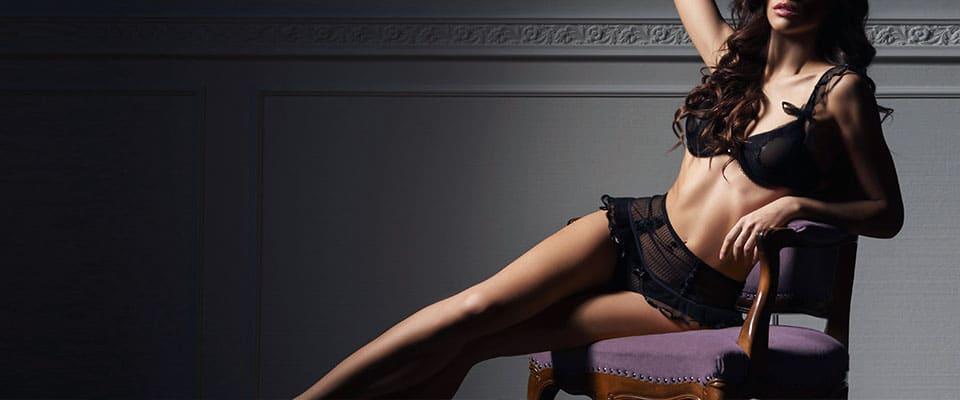 Женское нижнее белье из курса по пошиву