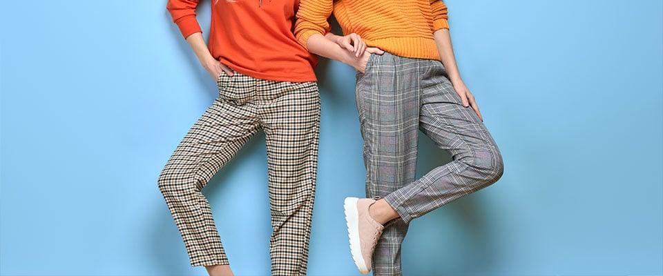 Женские брюки из курса по пошиву
