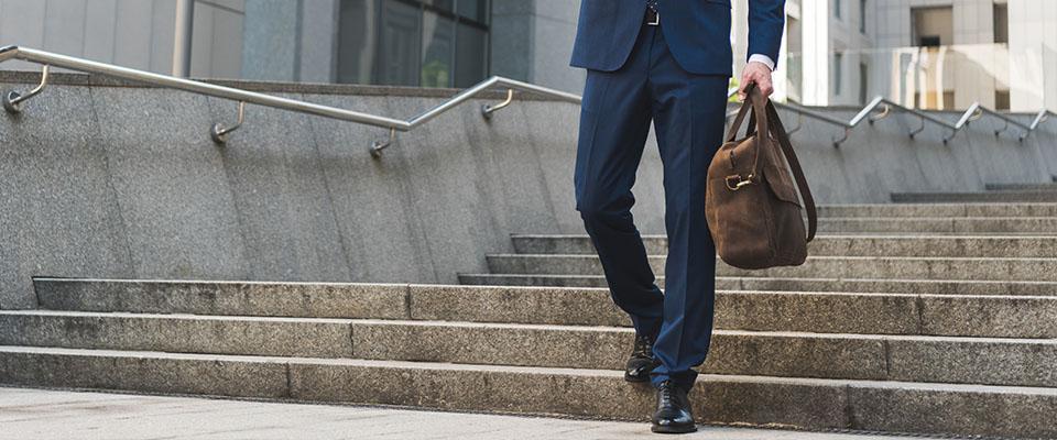 Мужские классические брюки из курса по пошиву