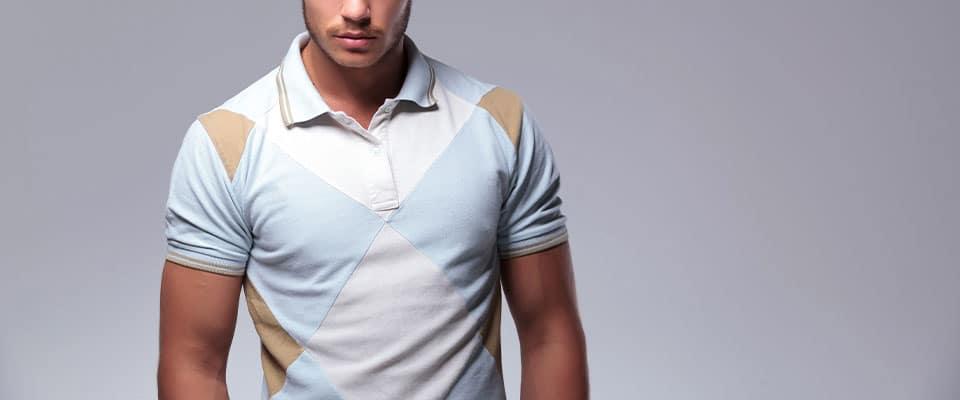 Мужская футболка поло из курса по пошиву