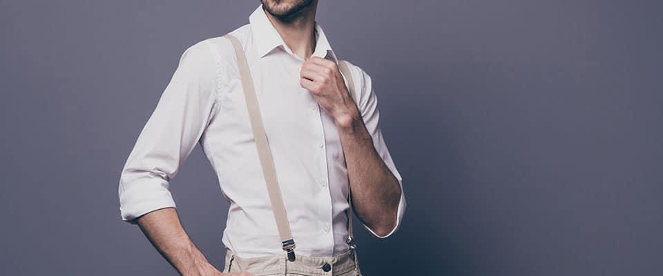 Мужская классическая рубашка из курса по пошиву